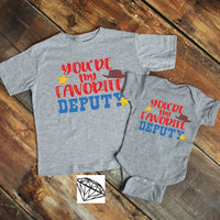 Favorite Deputy Toddler Tee