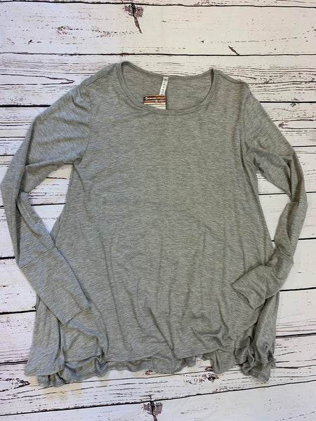 LONG SLEEVE GREY TUNIC