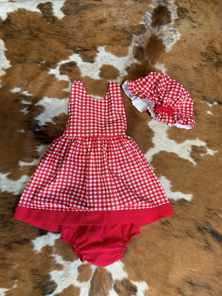 Red Plaid 3 Piece