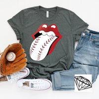 Baseball Tongue Tee