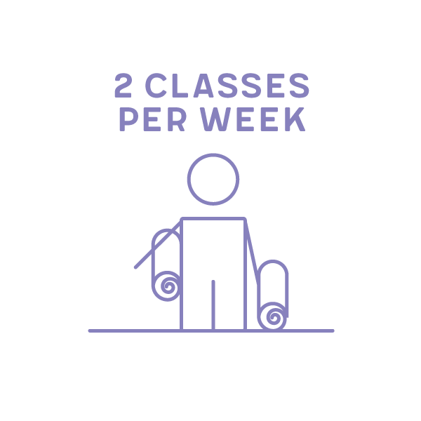 2 classes per week Term 1 2019 (1 x 10wks & 1x 11wks)