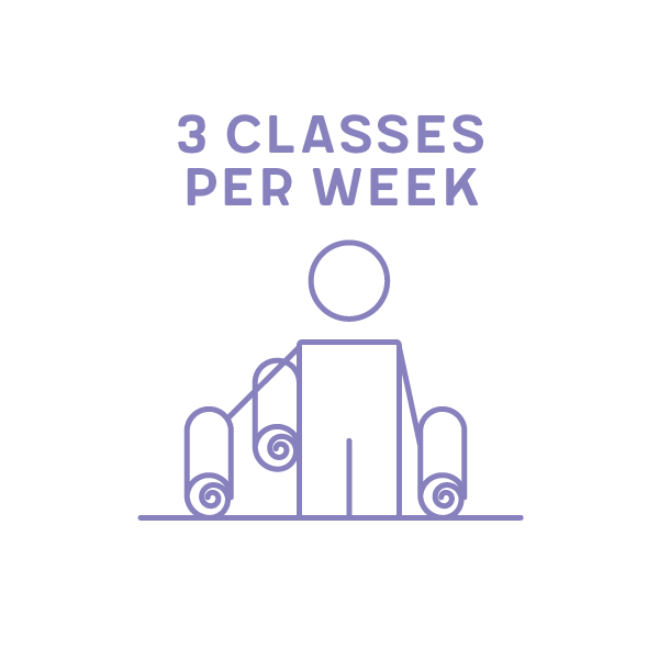 3 Classes per Week Term 1 2019