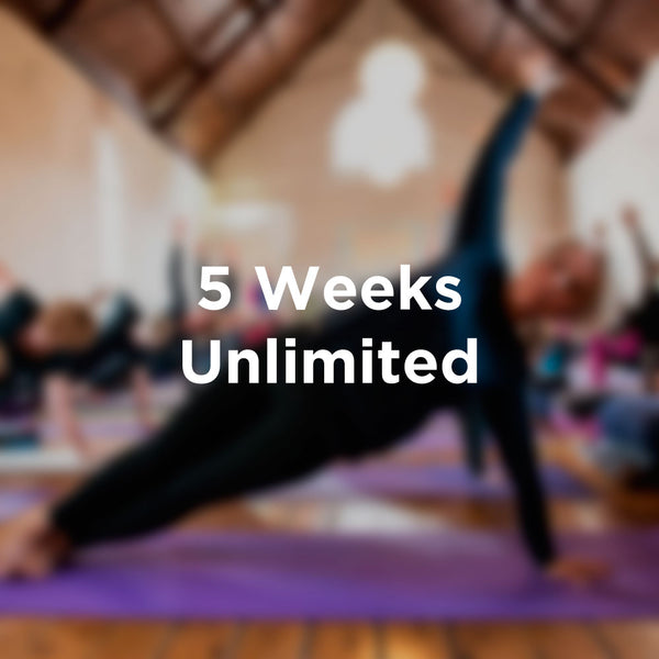 5 weeks Unlimited Pass
