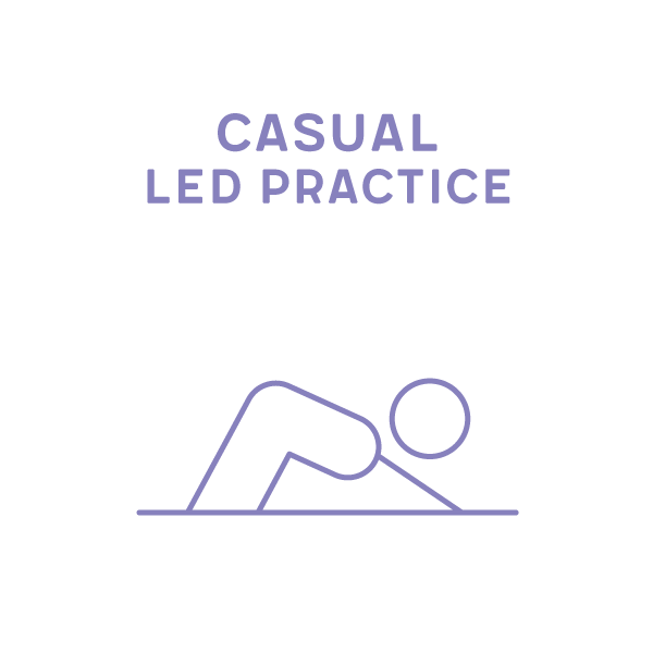 Casual Led Practice on Zoom Saturday 7.15-8.30am Term 1 2020