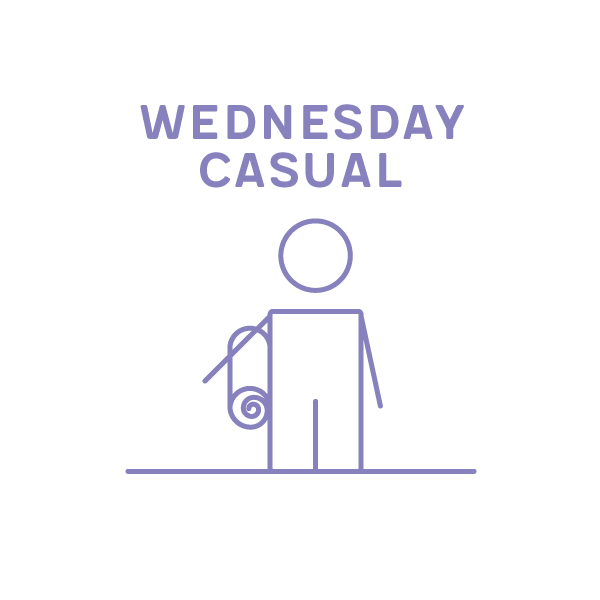 5.15-6.45pm Casual Wednesday Class Term 4 2019