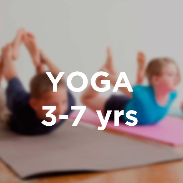 Yoga for children 3-7yrs Casual Zoom Class