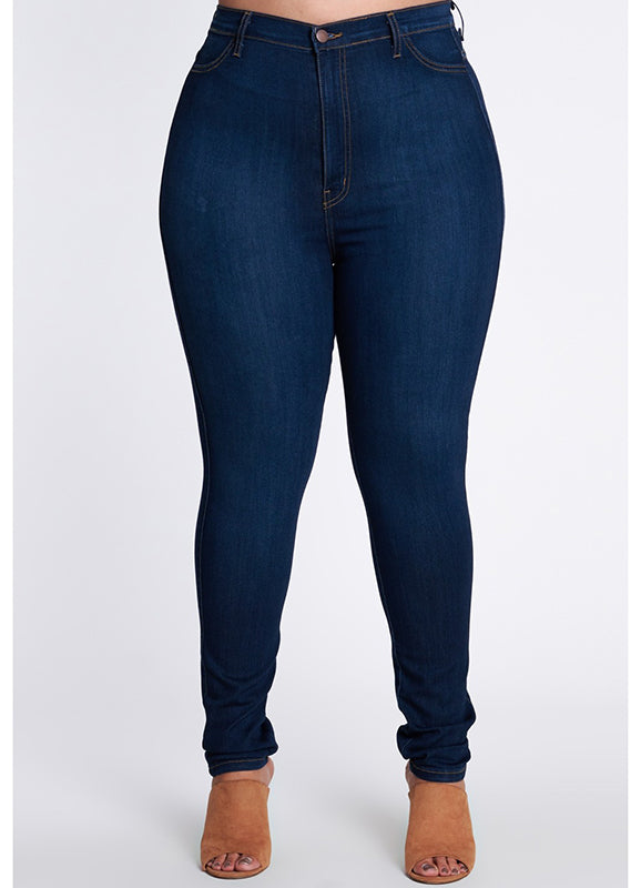 Plus Size Skinny Jeans | Zaria | Not Ur Avg Chic Boutique