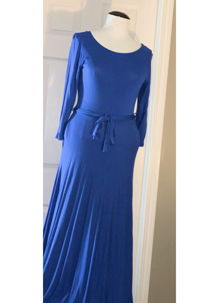 Blue Maxi Dress Size: 1X