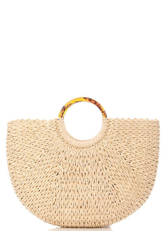 Straw Tote Bag | BeBe | Not Ur Avg Chic Boutique