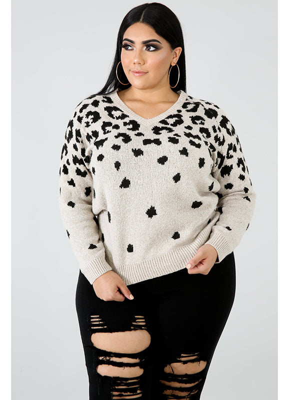 Leopard Sweater | Not Ur Avg Chic Boutique