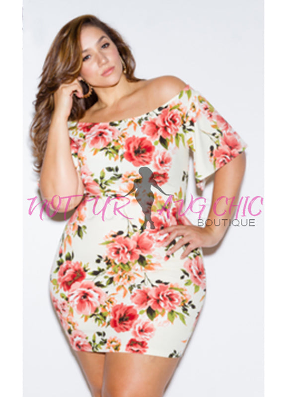 Plus Size Kori Off The Shoulder Dress