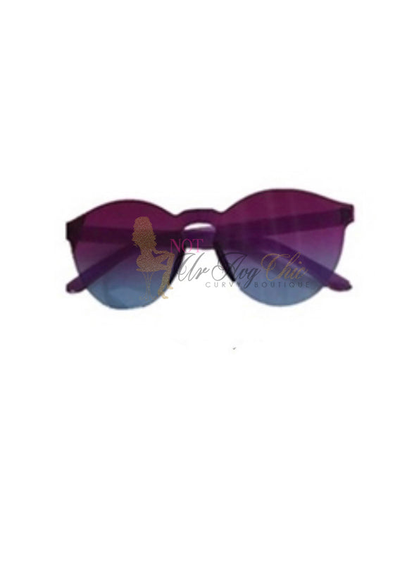 Colorful Round Frame Sunglasses | Melissa | Not Ur Avg Chic Boutique