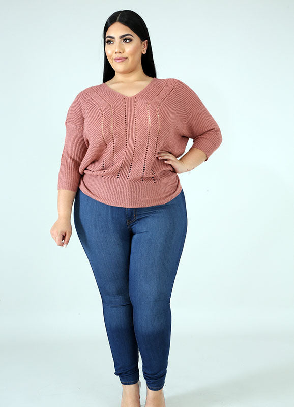 Knit Sweater | Raven | Not Ur Avg Chic Boutique