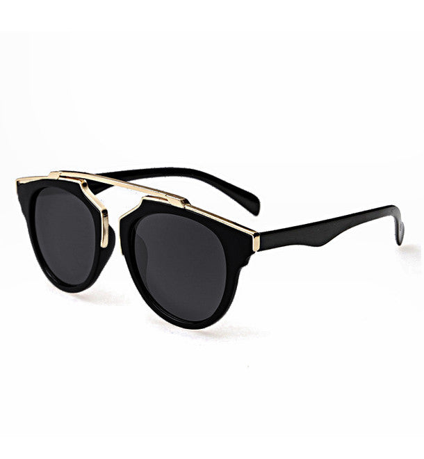 Sophie Gold Brow Bar Sunglasses.