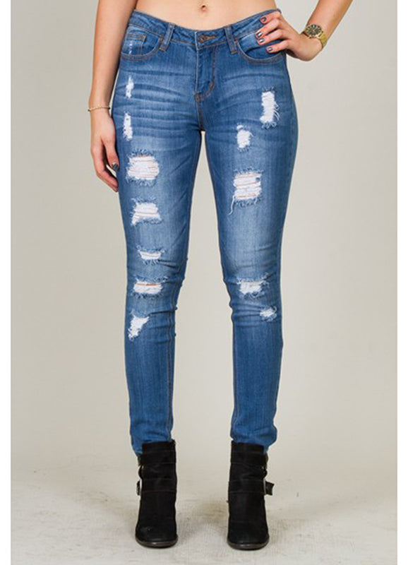 Sophia Distress Jeans | Not Ur Avg Chic Boutique