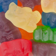 SUGAR FREE 12 FLAVOR GUMMY BEARS