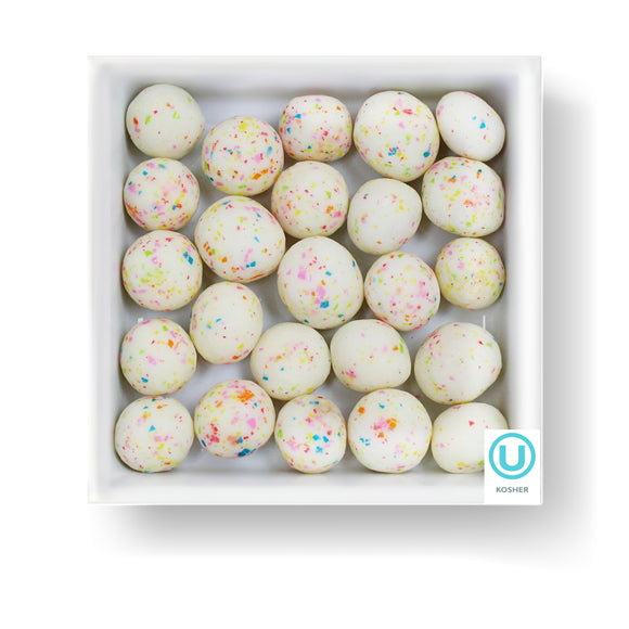 BIRTHDAY CAKE DOUGH BITES - Candy Fix