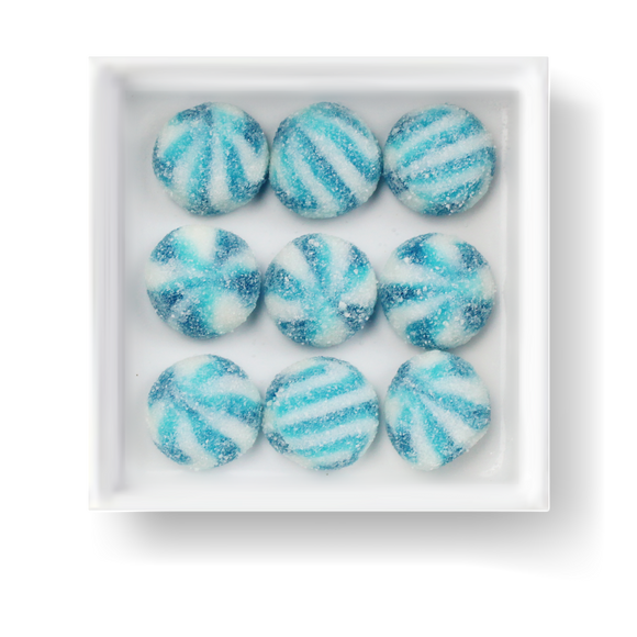 SOUR BLUE RASPBERRY SWIRLS - Candy Fix
