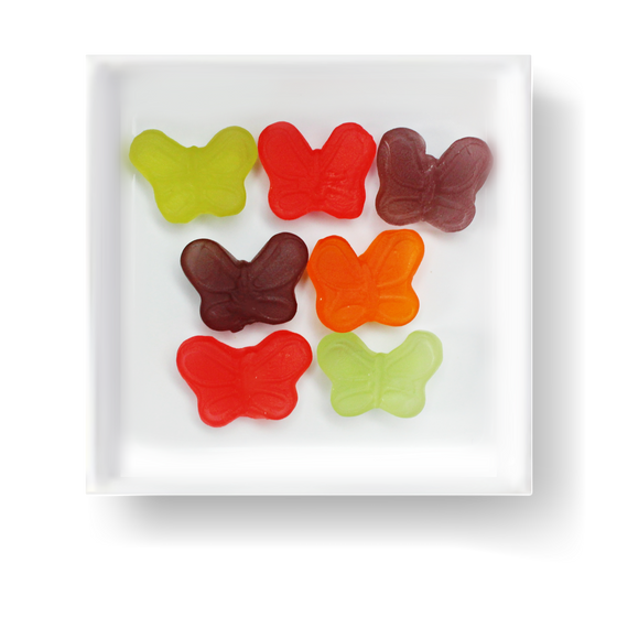 SUGAR FREE BUTTERFLY GUMMIES - Candy Fix