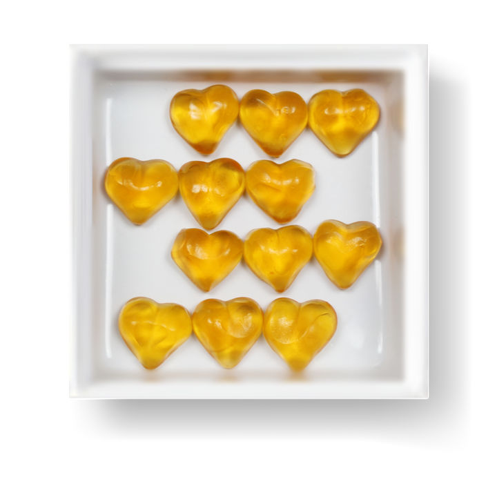 GOLDEN APRICOT HEARTS