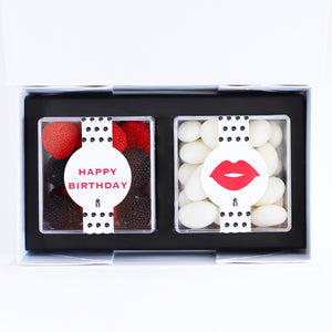 HAPPY BIRTHDAY GIFT CANDY BOX CANDY CUBES