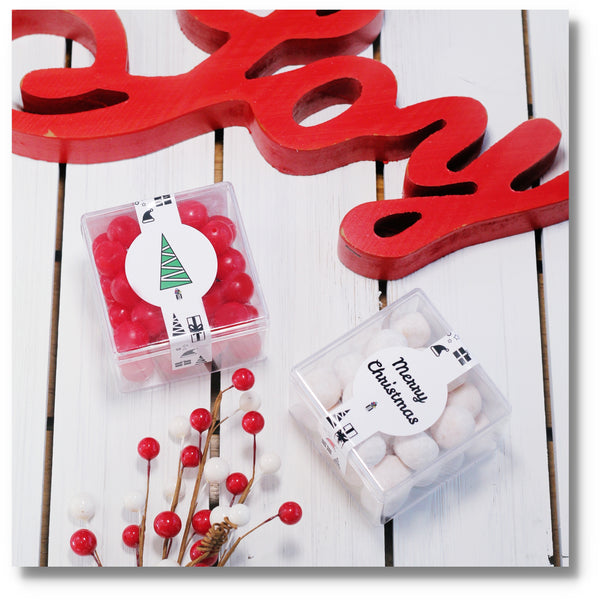 MERRY CHRISTMAS - 2 CUBES - Candy Fix