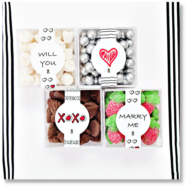 WILL YOU MARRY ME - 4 CUBES - Candy Fix