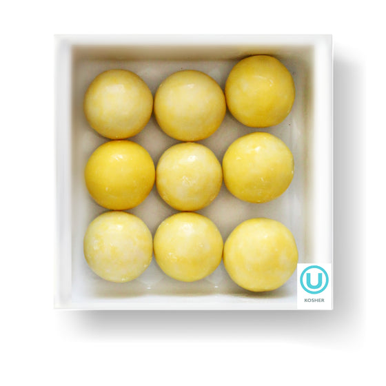 LEMON CREME MALT BALL - Candy Fix