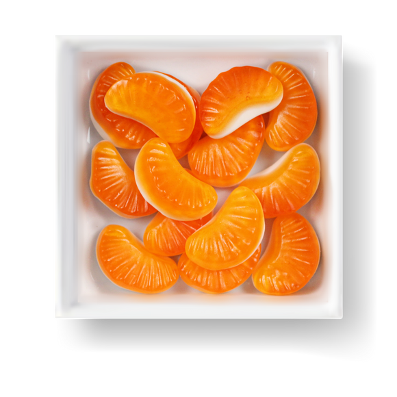 FAT FREE ORANGE SLICES CANDY