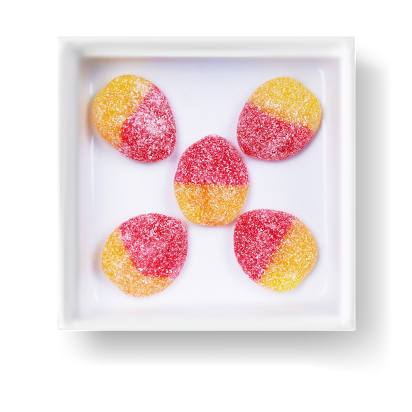 SOUR PEACH SLICES - Candy Fix