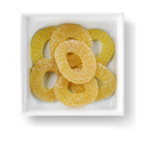 SOUR PINEAPPLE SLICES CANDY