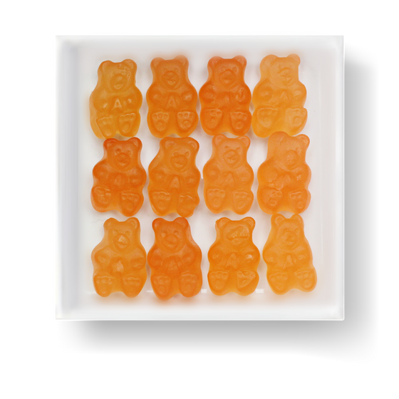 PINK GRAPEFRUIT GUMMY BEARS - Candy Fix