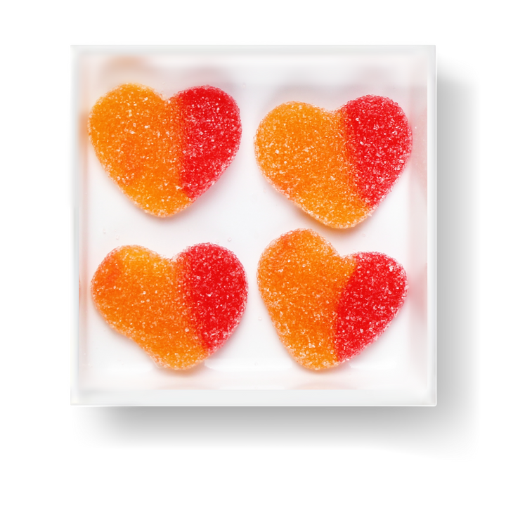 SOUR PEACH HEART