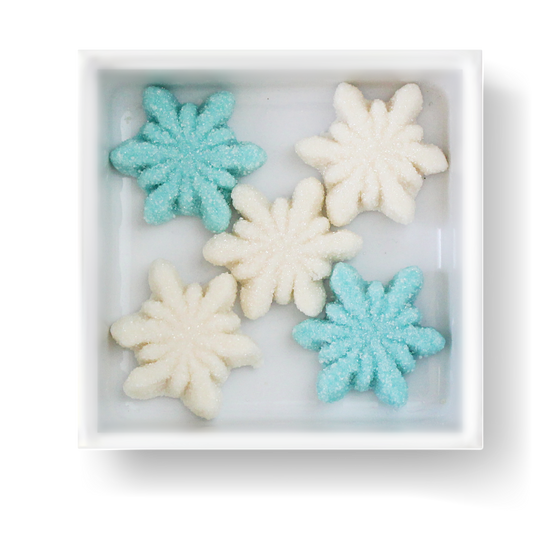 GLITTER SNOWFLAKES - Candy Fix