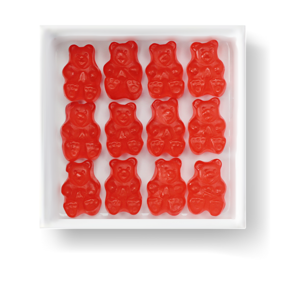STRAWBERRY GUMMY BEARS - Candy Fix