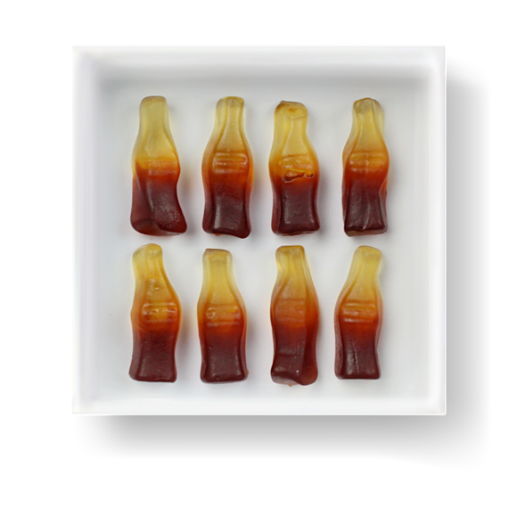 COLA GUMMY BOTTLES