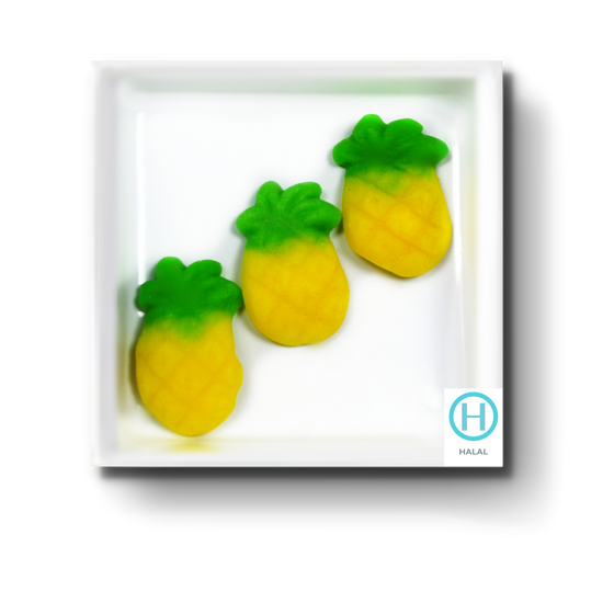 SWEET PINEAPPLE GUMMIES