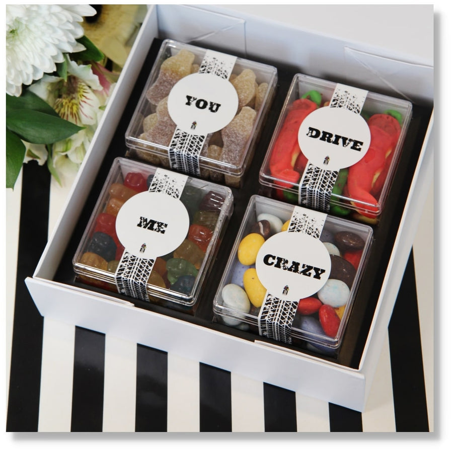 CRAZY GIFT CANDY BOX CANDY CUBES