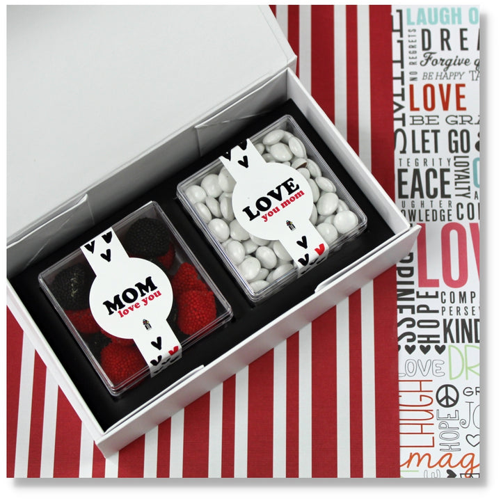 MOM CANDY BOX GIFT CANDY CUBES GOURMET