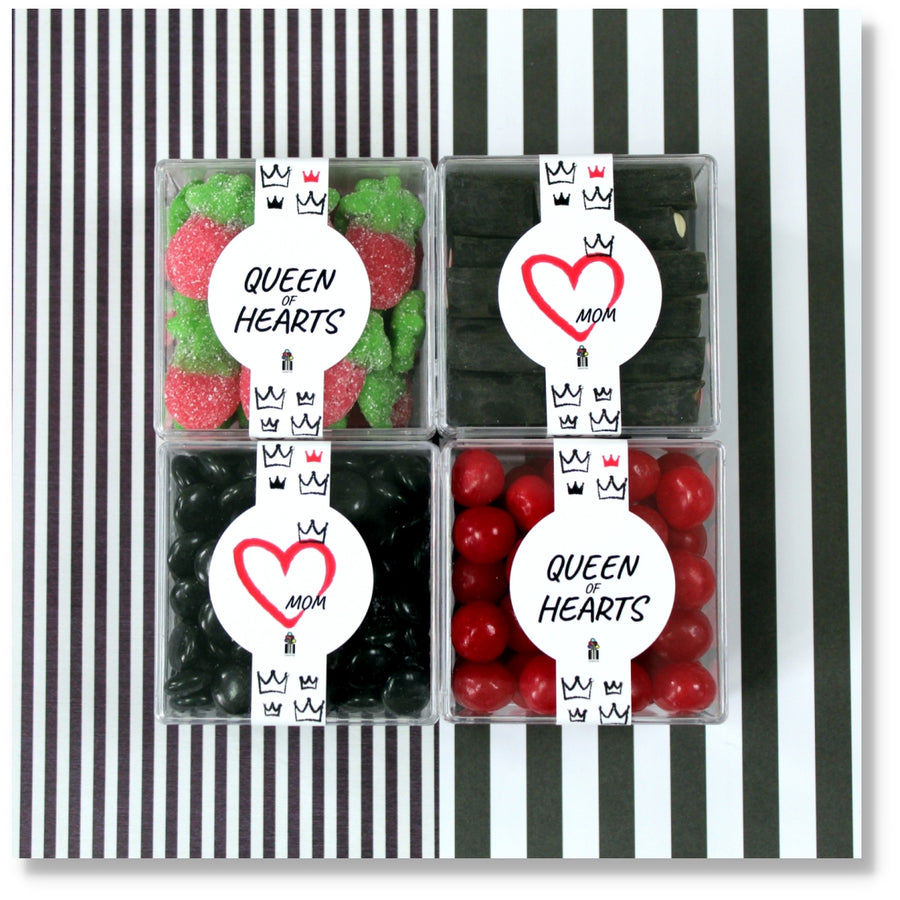QUEEN OF HEARTS - 4 CUBES - Candy Fix