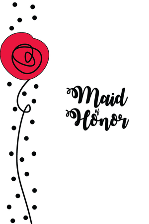 Maid of Honor - 2 cubes