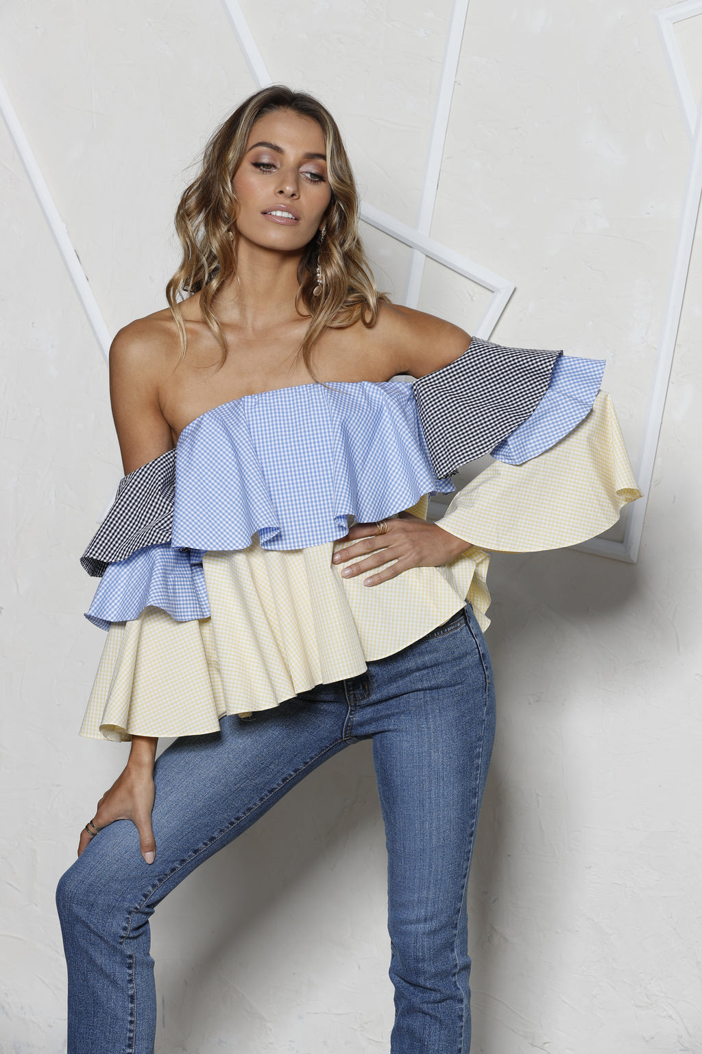 Women - Apparel - Shirts - Blouses:StyleKeepers:Virgo Off-Shoulder Top:WKND threads