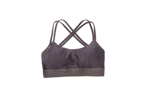 Women - Apparel - Active Wear - Tops:Maaji:Instantaneous Black Sports Bra:WKND threads