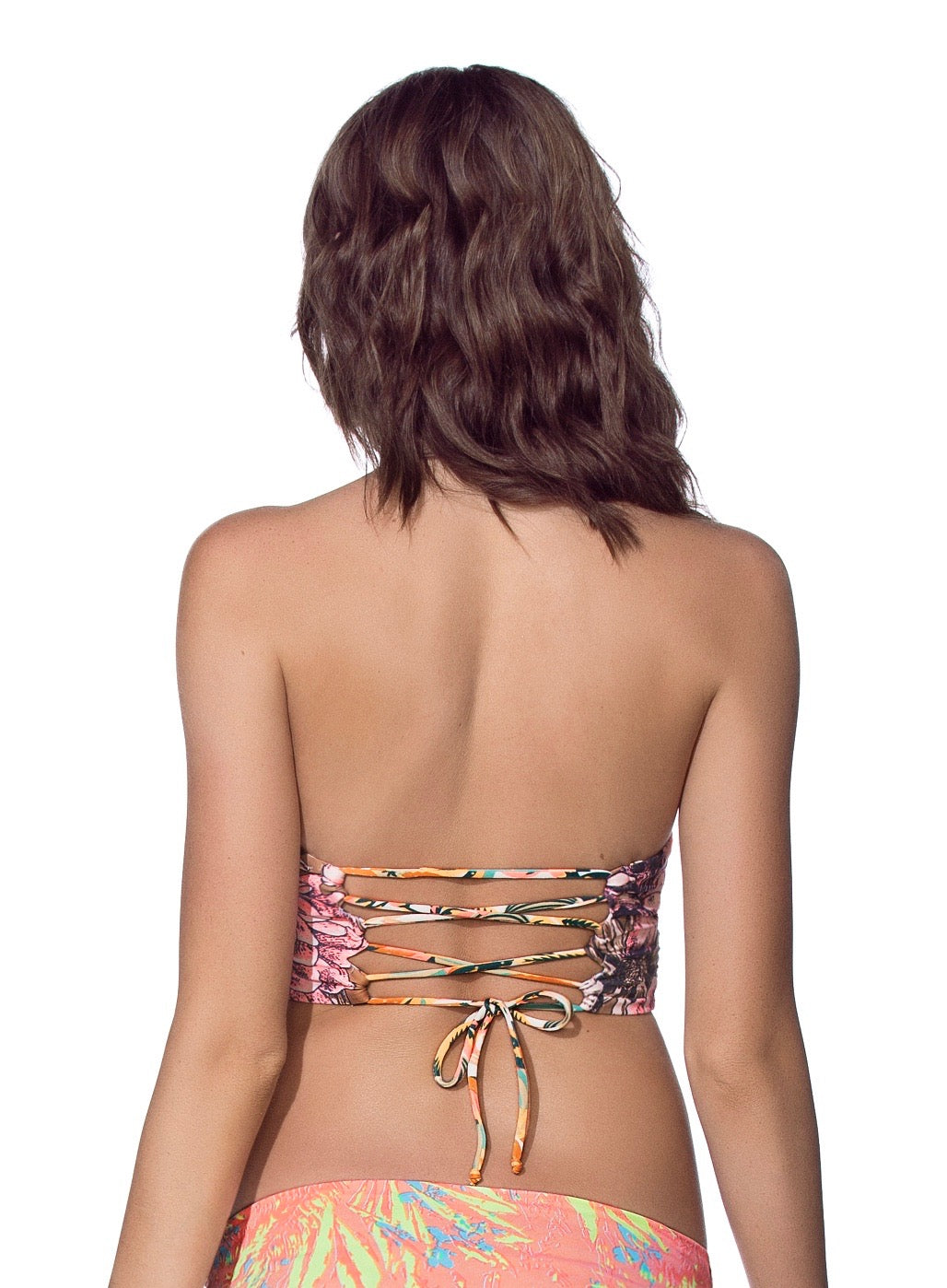 Women - Apparel - Swimwear - Bikinis Separates:Maaji:Batik Dancer Bustier Bikini Top:WKND threads