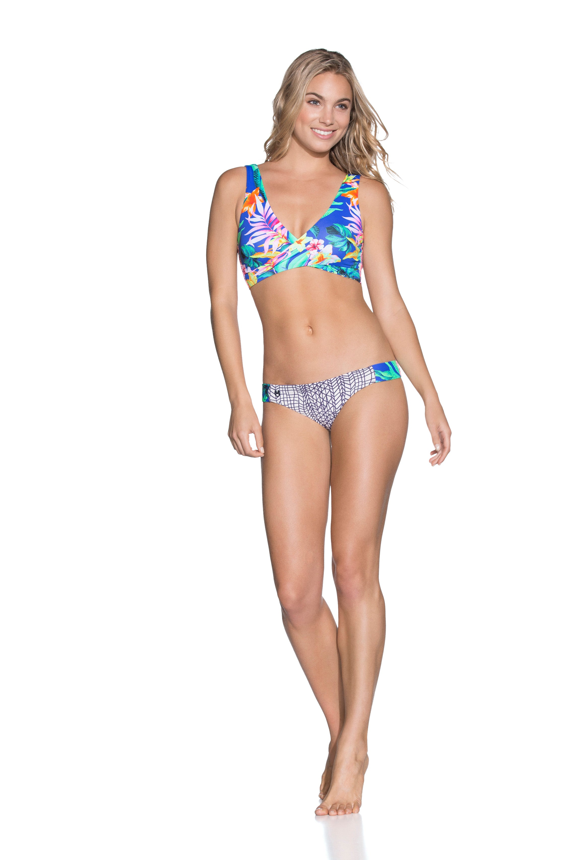 Women - Apparel - Swimwear - Bikinis Separates:Maaji:Festival Fleur Bottom:WKND threads