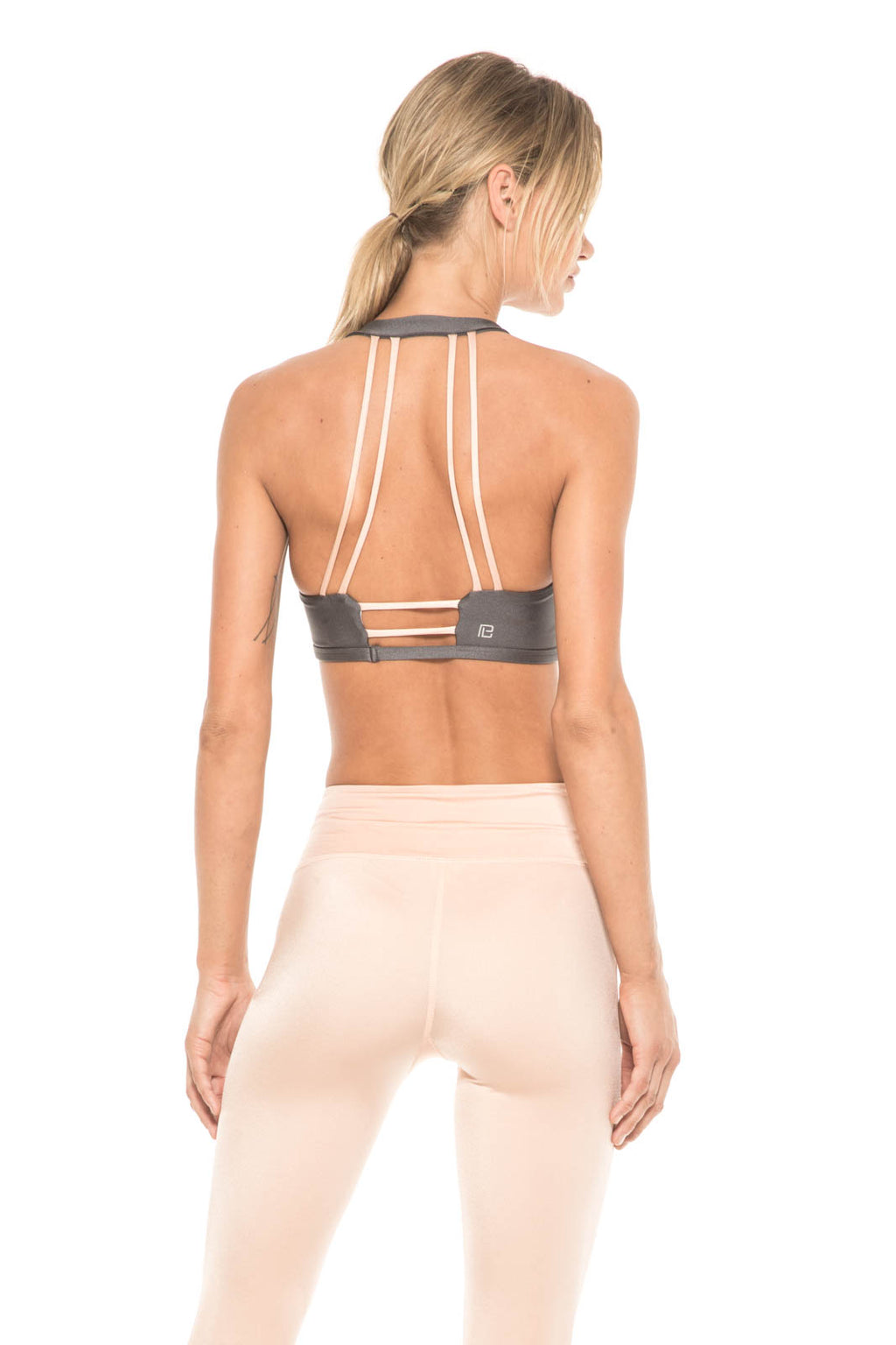 Body Language Sportswear:Women - Apparel - Active Wear - Tops:Kloss Top in Graphite:XS