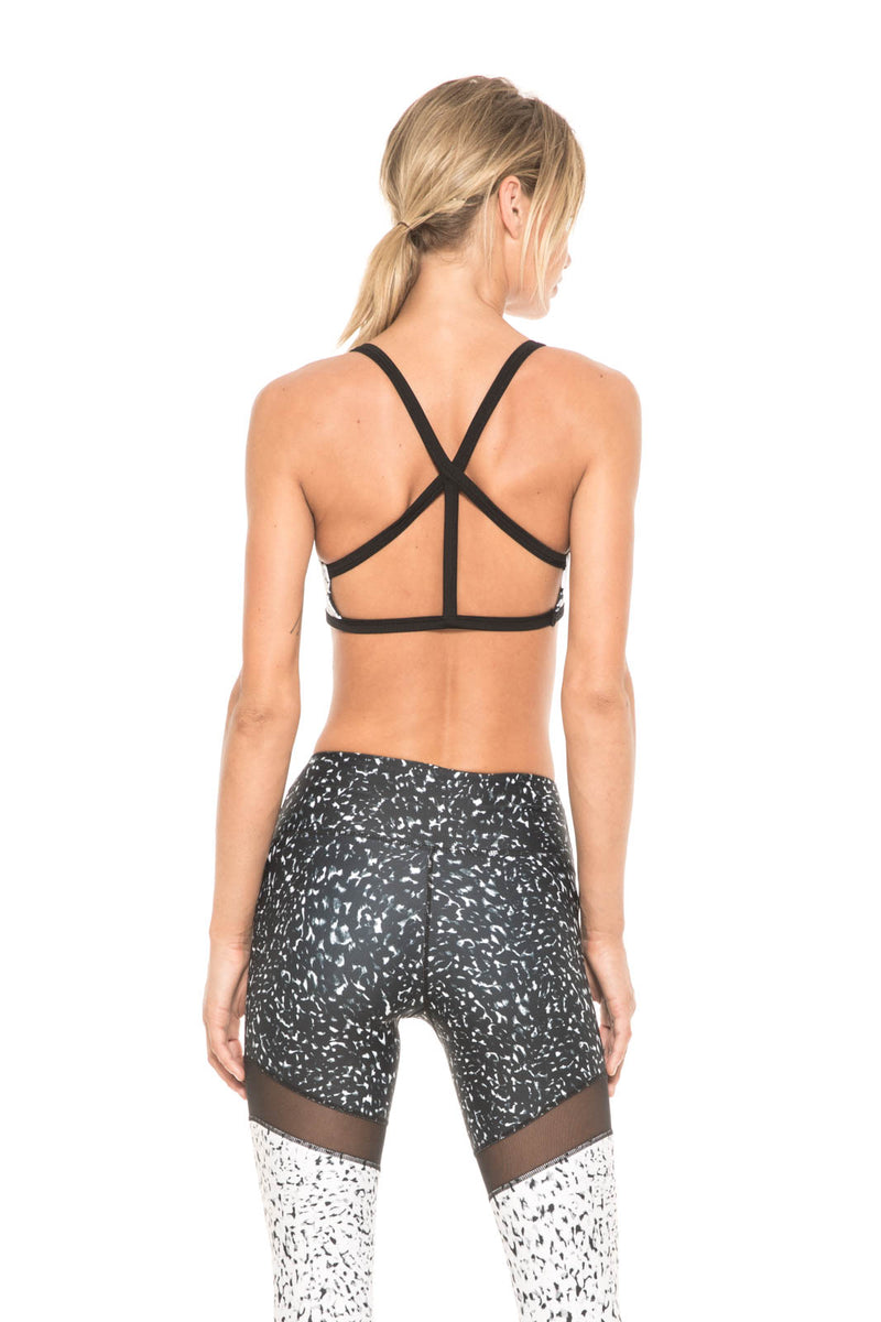 Women - Apparel - Active Wear - Tops:Body Language Sportswear:The Stella Reversible Top in Primal:WKND threads