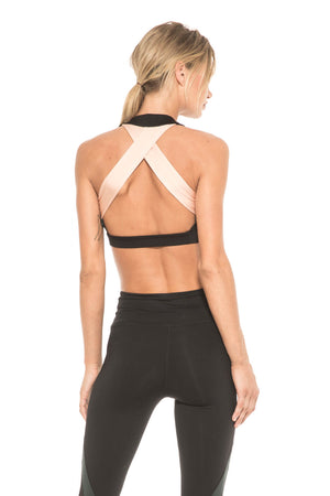Women - Apparel - Active Wear - Top:Body Language Sportswear:Campbell Crop Top:WKND threads