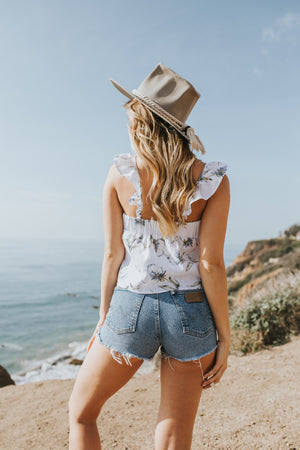Women - Apparel - Shirts - Blouses:Lost + Wander:The Havana Top:WKND threads