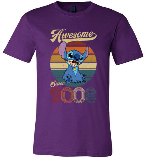 Stitch Awsome Since 2008 TS